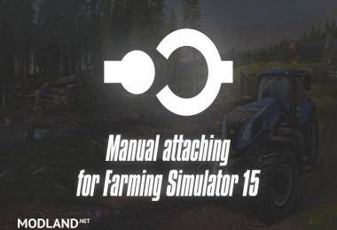 MANUAL ATTACHING v 2.1 WITH PTO ATTACH/DETACH FUNCTION