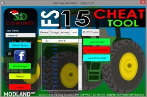Cheat Tool v 2.1.1 Update, 1 photo