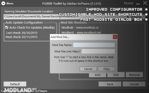 FS2015 Toolkit & Cheat Tool V2.1.0.1, 2 photo