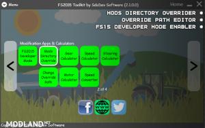 FS2015 Toolkit & Cheat Tool V2.1.0.1, 5 photo