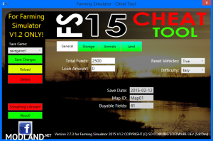FS 2015 CHEAT TOOL FOR FS2015 V1.2 WITH WINXP SUPPORT! v 2.7.3, 3 photo