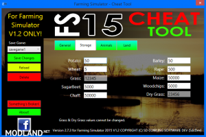 FS 2015 CHEAT TOOL FOR FS2015 V1.2 WITH WINXP SUPPORT! v 2.7.3, 1 photo