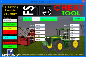 FS2015 Cheat Tool v 2.6.1 For FS 2015 v 1.2, 4 photo