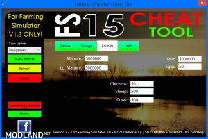 FS 2015 CHEAT TOOL FOR FS2015 V1.2 WITH WINXP SUPPORT! v 2.7.3, 2 photo