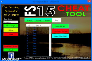 FS 2015 CHEAT TOOL FOR FS2015 V1.2 WITH WINXP SUPPORT! v 2.7.3, 4 photo