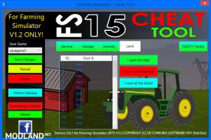 FS2015 Cheat Tool v 2.6.1 For FS 2015 v 1.2, 2 photo