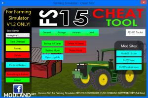 FS2015 Cheat Tool v 2.6.1 For FS 2015 v 1.2, 5 photo