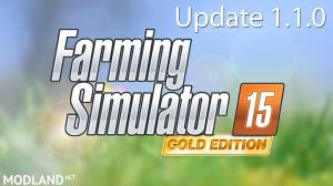 Farming Simulator 2015 Gold Add-on - Update 1.1.0