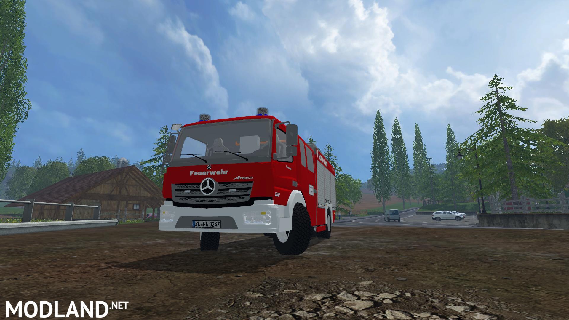 LF10 Mercedes Benz Atego V2 mod for Farming Simulator 2015 / 15 | FS ...