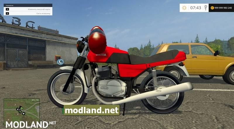Motorcycle Jawa