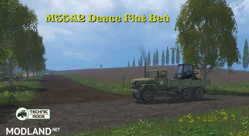 M35A2 Deuce Flat Bed