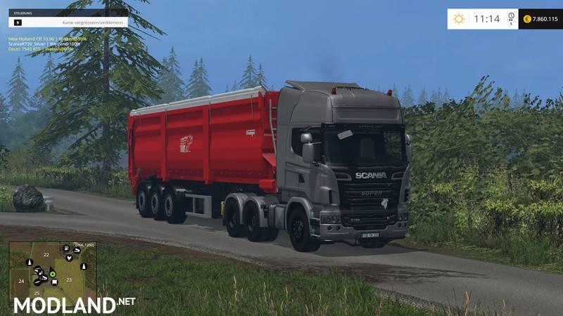 Scania R730 Silver