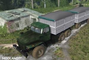 4320 Ural and trailers v 1.2