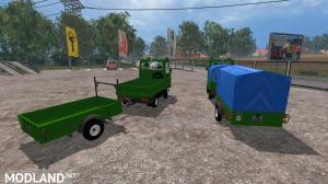 Multicar and Trailer ROS , 3 photo