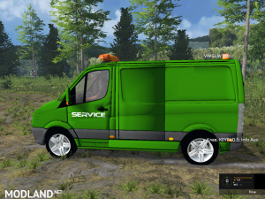 VW Crafter Service Car, 4 photo