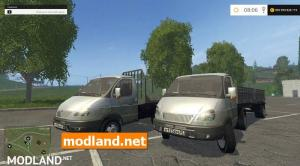 Gazelle with trailers V1.0, 1 photo