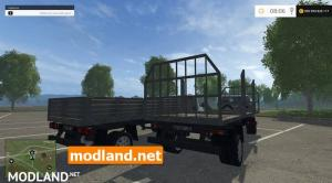 Gazelle with trailers V1.0, 2 photo
