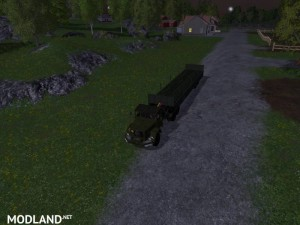 Magirus Deutz Jupiter tractor with semi-trailer v 1.15 , 10 photo