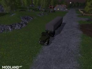 Magirus Deutz Jupiter tractor with semi-trailer v 1.15 , 11 photo