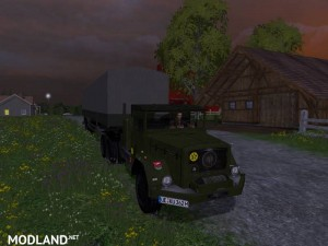 Magirus Deutz Jupiter tractor with semi-trailer v 1.15 , 12 photo