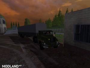 Magirus Deutz Jupiter tractor with semi-trailer v 1.15 , 13 photo