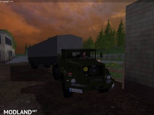 Magirus Deutz Jupiter tractor with semi-trailer v 1.15 , 14 photo
