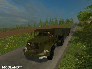 Magirus Deutz Jupiter tractor with semi-trailer v 1.15 , 2 photo
