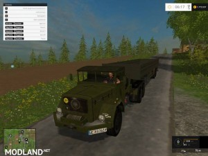 Magirus Deutz Jupiter tractor with semi-trailer v 1.15 , 3 photo
