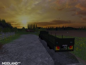 Magirus Deutz Jupiter tractor with semi-trailer v 1.15 , 8 photo