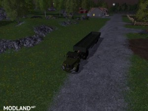 Magirus Deutz Jupiter tractor with semi-trailer v 1.15 , 9 photo