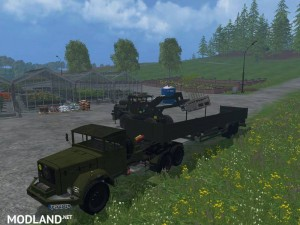Magirus Deutz Jupiter tractor with semi-trailer v 1.15 , 1 photo