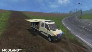 Mercedes Sprinter ambulance trolley NRW v 1.0