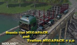 Scania 730 and Trailers Megapack v 2.0, 10 photo
