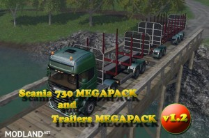 Scania 730 and Trailers Megapack v 2.0, 2 photo