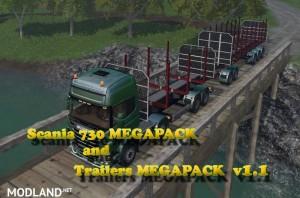 Scania 730 and Trailers Megapack v 2.0, 3 photo