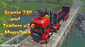 Scania 730 and Trailers Megapack v 2.0, 1 photo