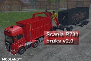Scania R730 Bruks v 2.0, 7 photo