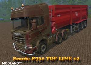 Scania R730 Top Line v 2.0 - External Download image