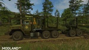 Ural 4320 Forestry Set v 1.1, 2 photo