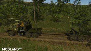 Ural 4320 Forestry Set v 1.1, 7 photo