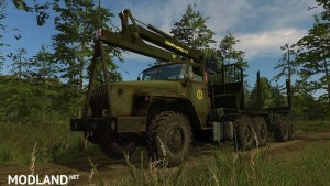 Ural 4320 Forestry Set v 1.1, 14 photo