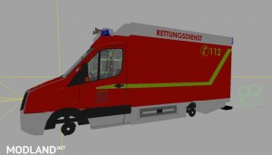 VW Crafter RTW texture v 1.1
