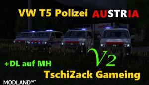 VW T5 police Austria v 2.0, 1 photo