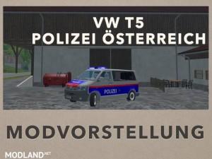 VW T5 police Austria v 2.0, 8 photo