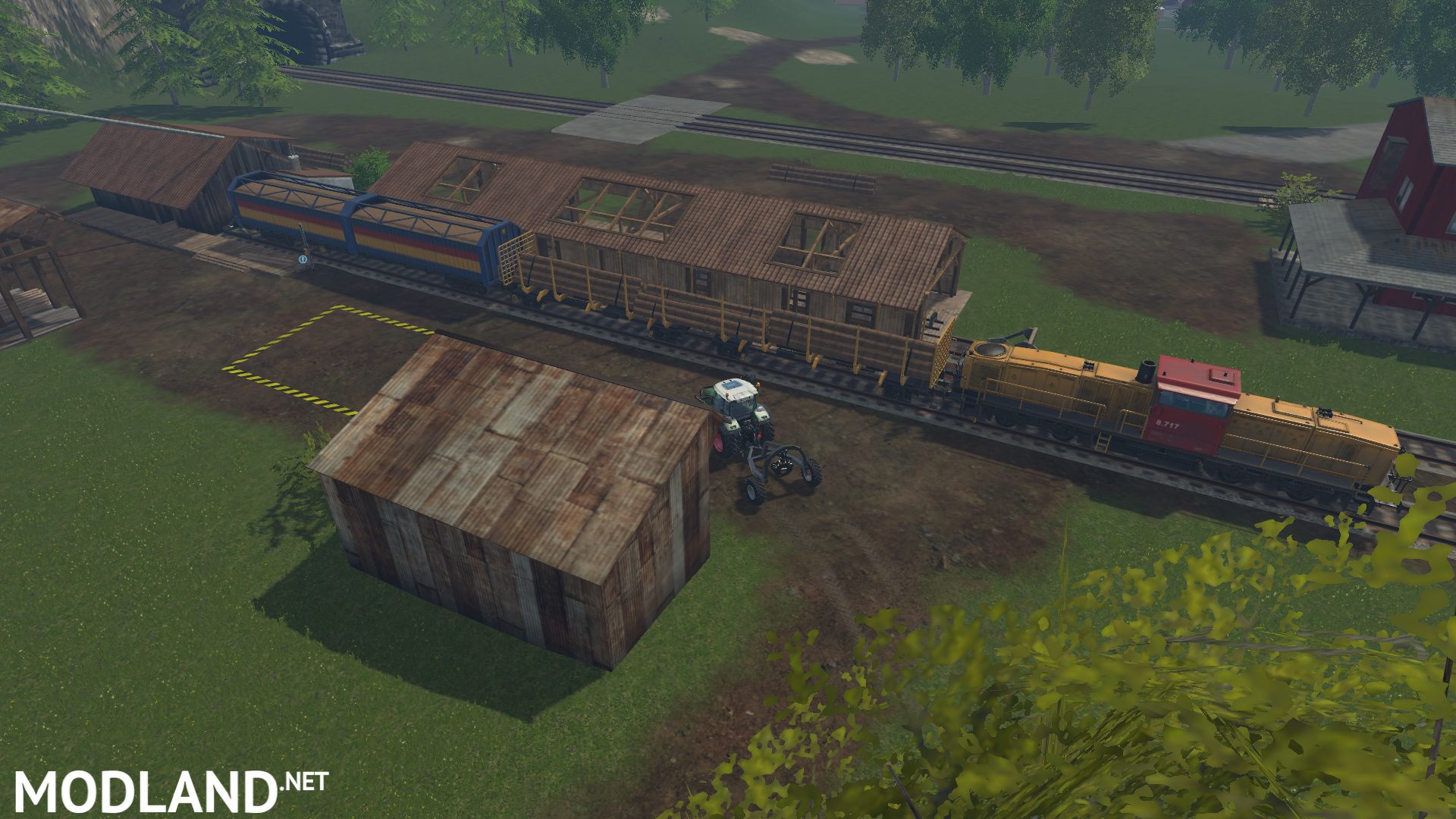 Westbridge Forest Map Mod For Farming Simulator FS LS - Norway map farming simulator 2013