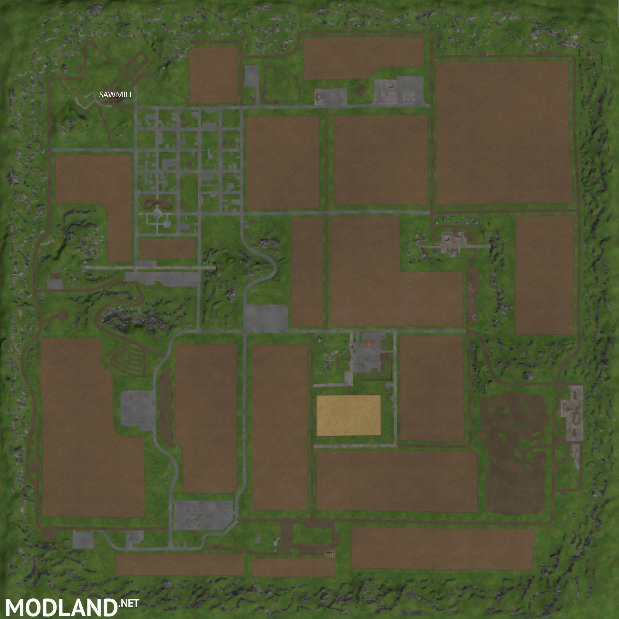 Westbridge Forest Map Mod For Farming Simulator 2015 15