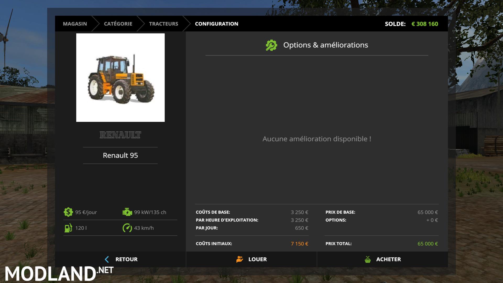 Fs17 Renault 95 Converted Mod Farming Simulator 17