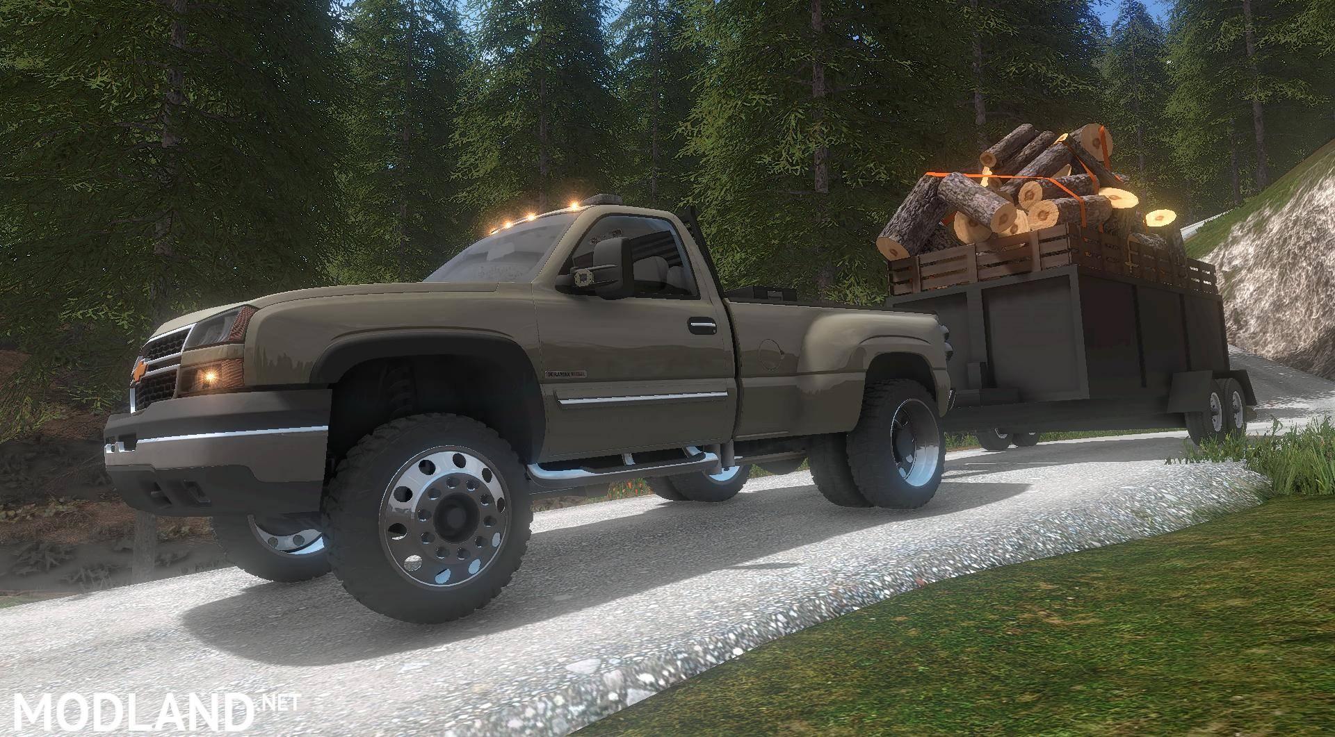 2017 Chevy Duramax >> 2004 Chevy Duramax LB7 v 1.1 mod Farming Simulator 17