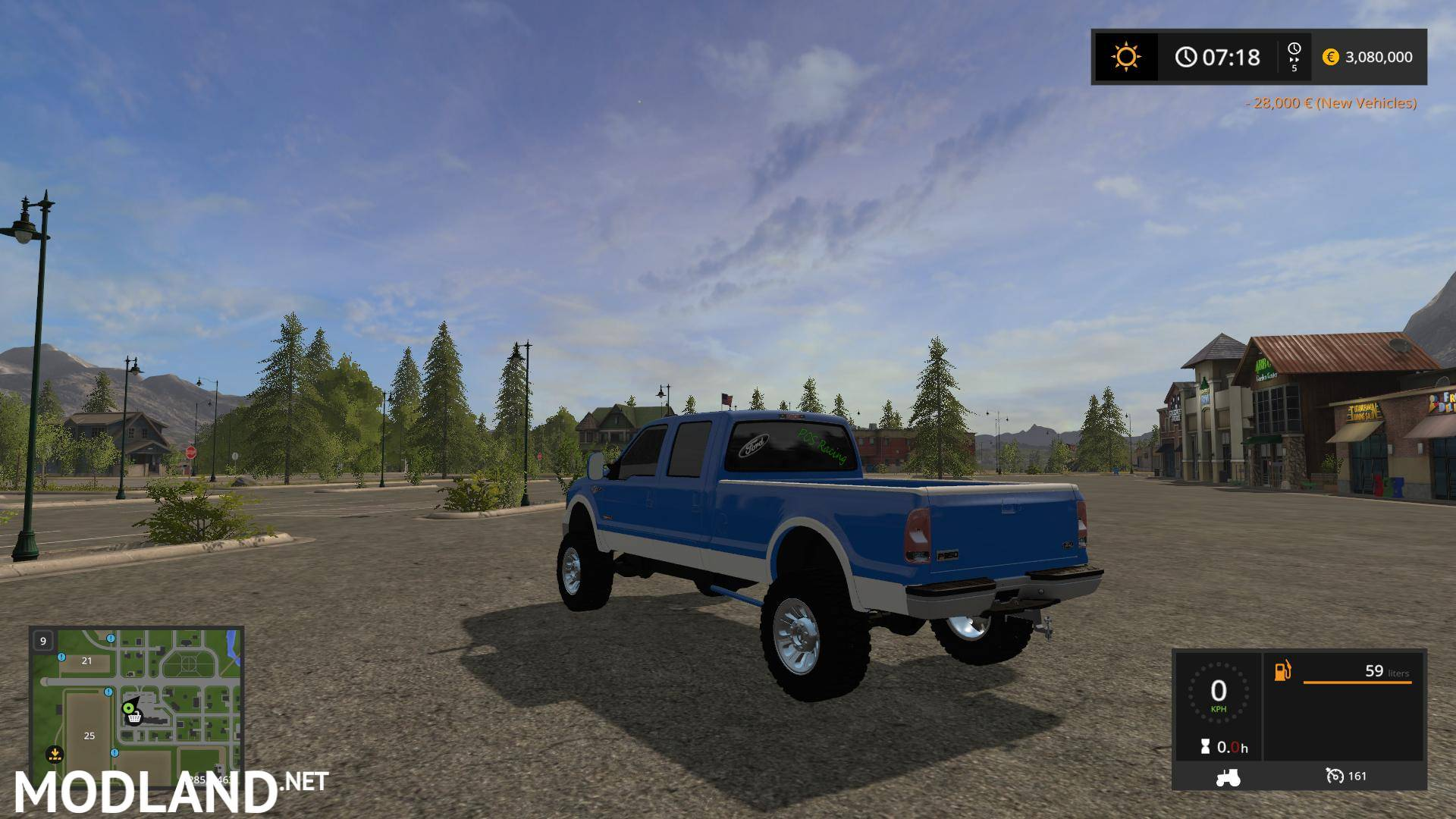 ford   custom   mod farming simulator
