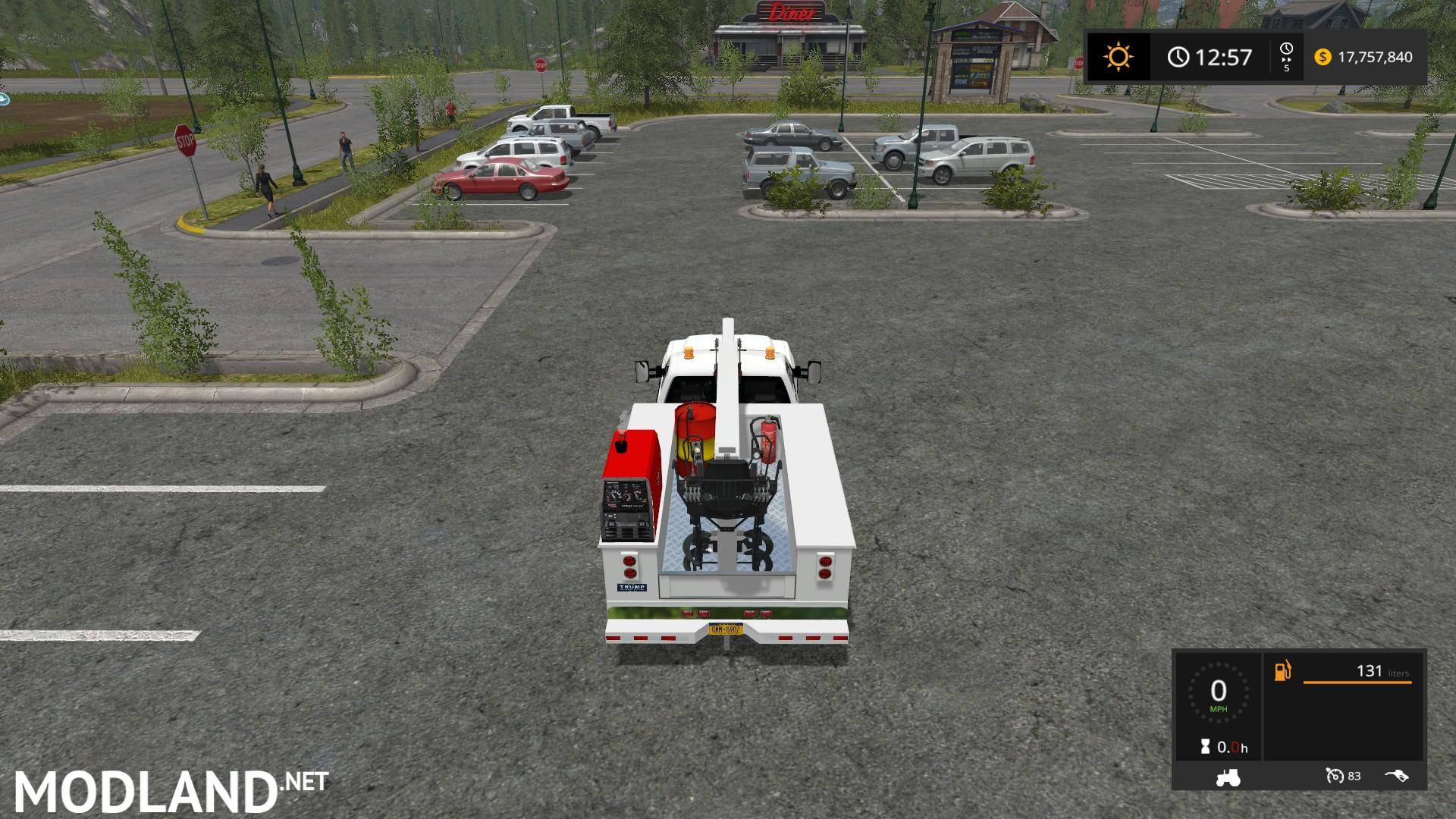 2016 Chevy Silverado 3500HD Service Truck mod Farming ...